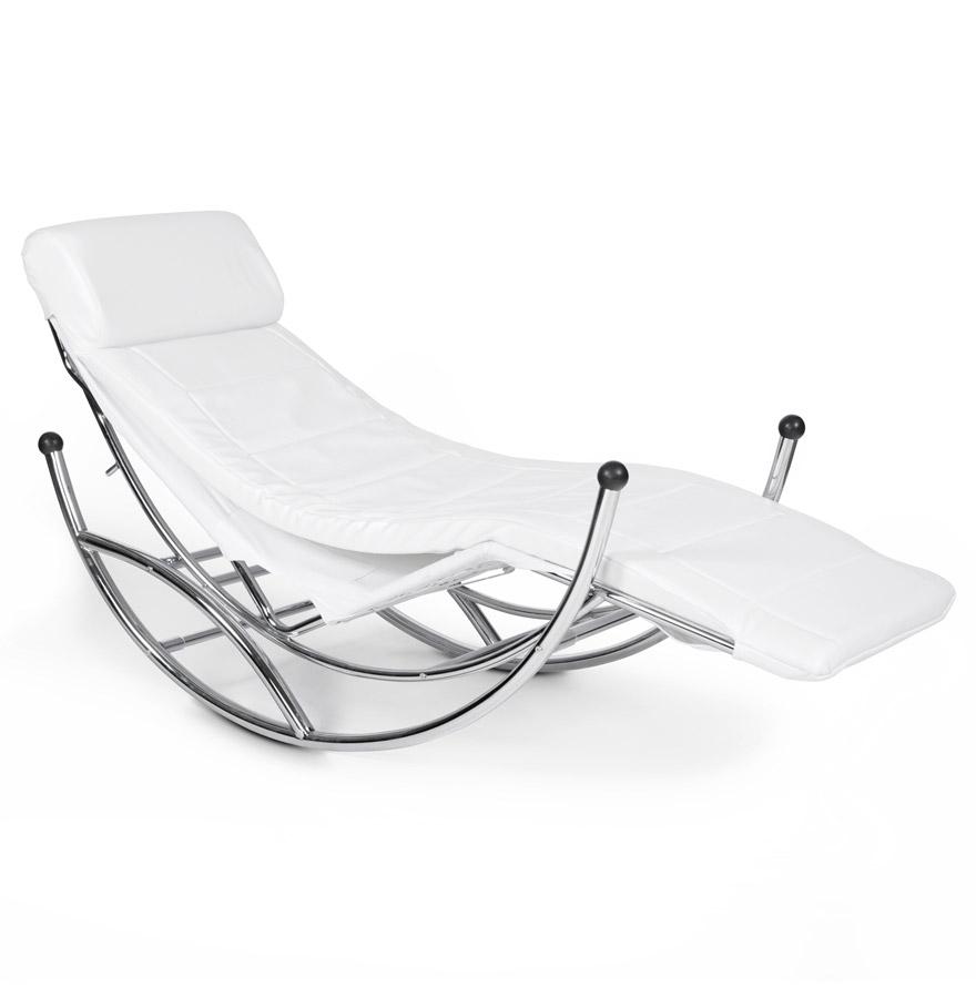 Chaise a bascule blanc tous les objets de d coration sur for Chaise a bascule blanche