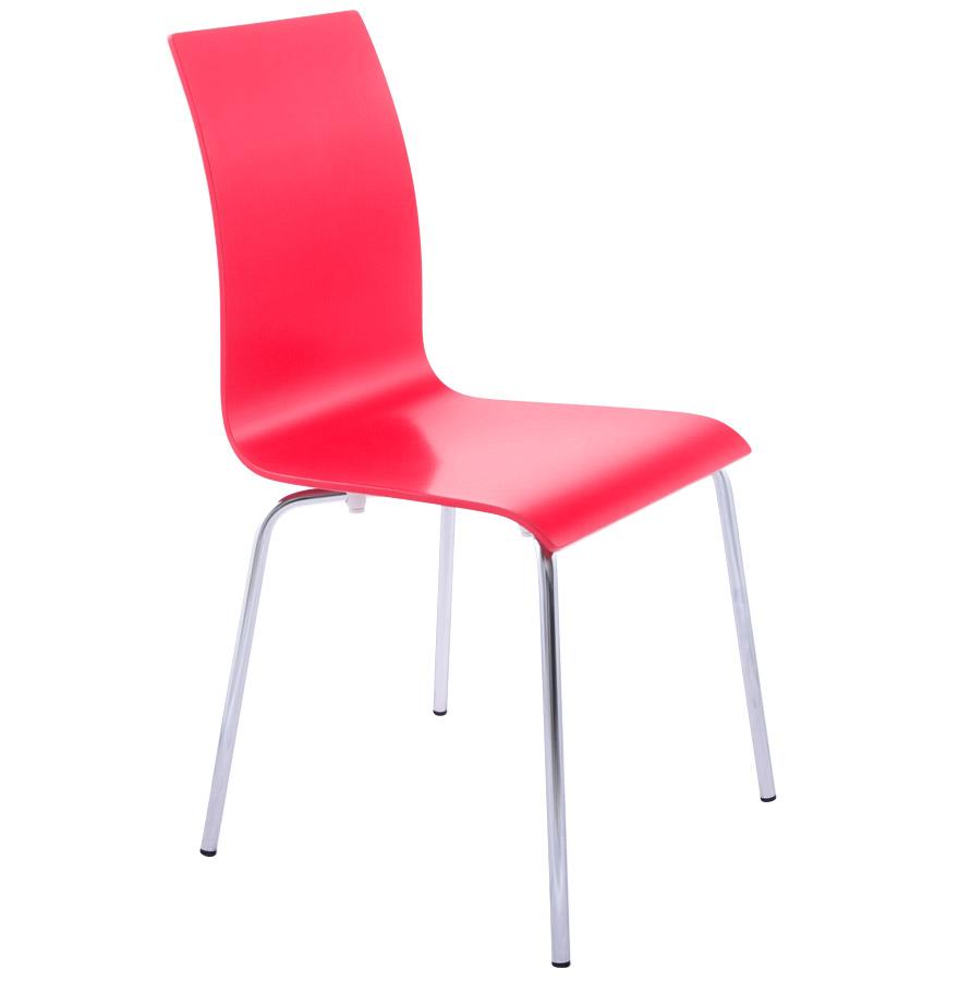 Design élégant, piétement à 4 pieds.
