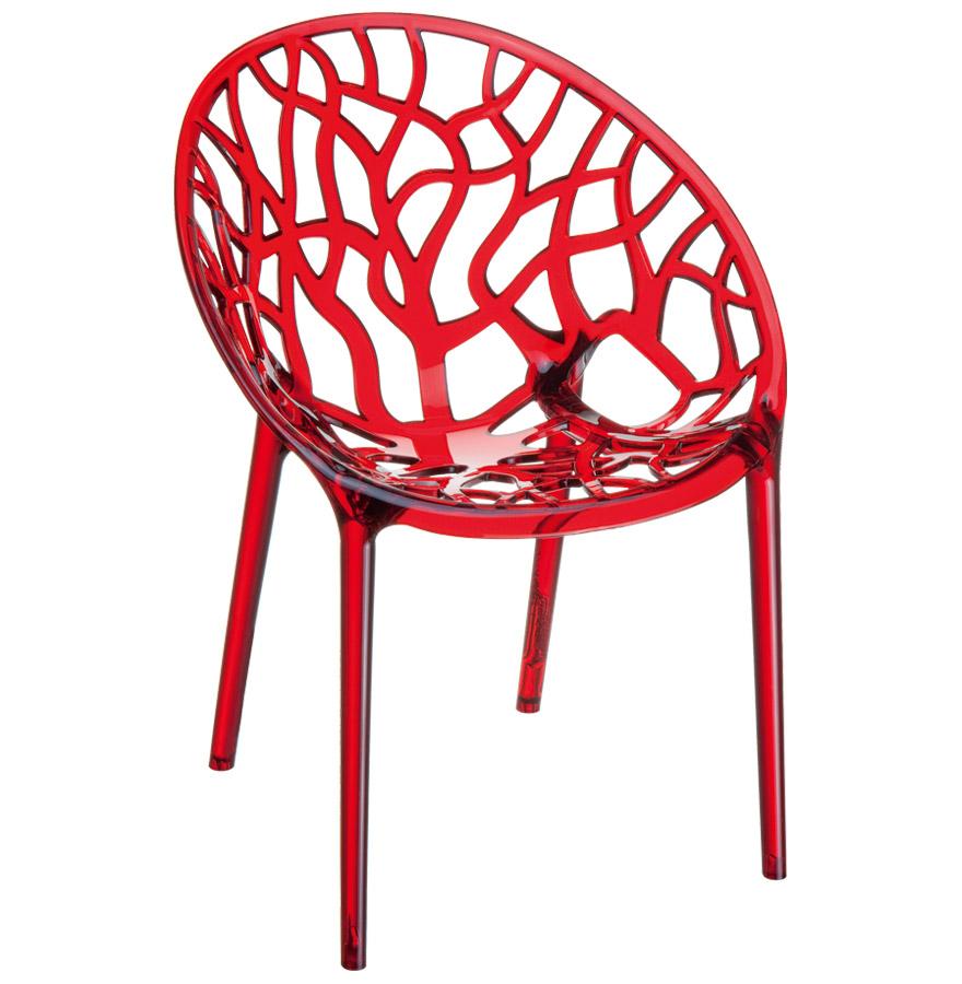Chaises très moderne en polycarbonate utilisable en extérieur.<br />Elle est également empilable.» desc=»Chaises très moderne en polycarbonate utilisable en extérieur.<br />Elle est également empilable.» width=»265&Prime; /></a><br /> <strong>Chaises très moderne en polycarbonate utilisable en extérieur.<br />Elle est également empilable.</strong><br /> Son style minimaliste et épuré ne laissera pas vos invités indifférents ! La chaise design GEO sort tout droit de l&rsquo;imagination des designers.<br />Elle est composée entièrement de polycarbonate, une matière plastique très résistante à l&rsquo;usure.<br />Doté d&rsquo;une finition de qualité et d&rsquo;un design unique, cette chaise moderne ravivera votre intérieur.<br /> <span style=