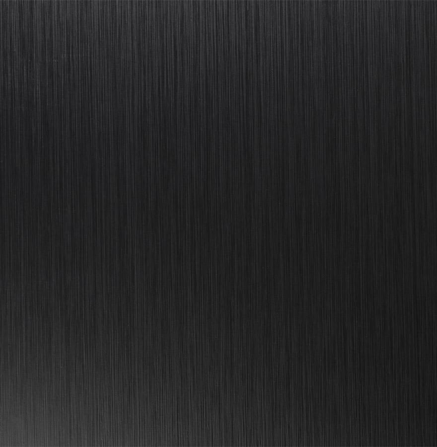 Plateau en bois aggloméré, couleur noir uni.