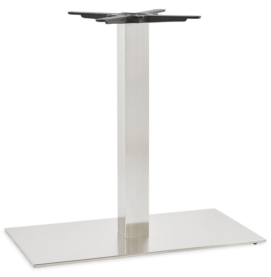 Pied de table ´KARO XL´ 75 en acier brossé