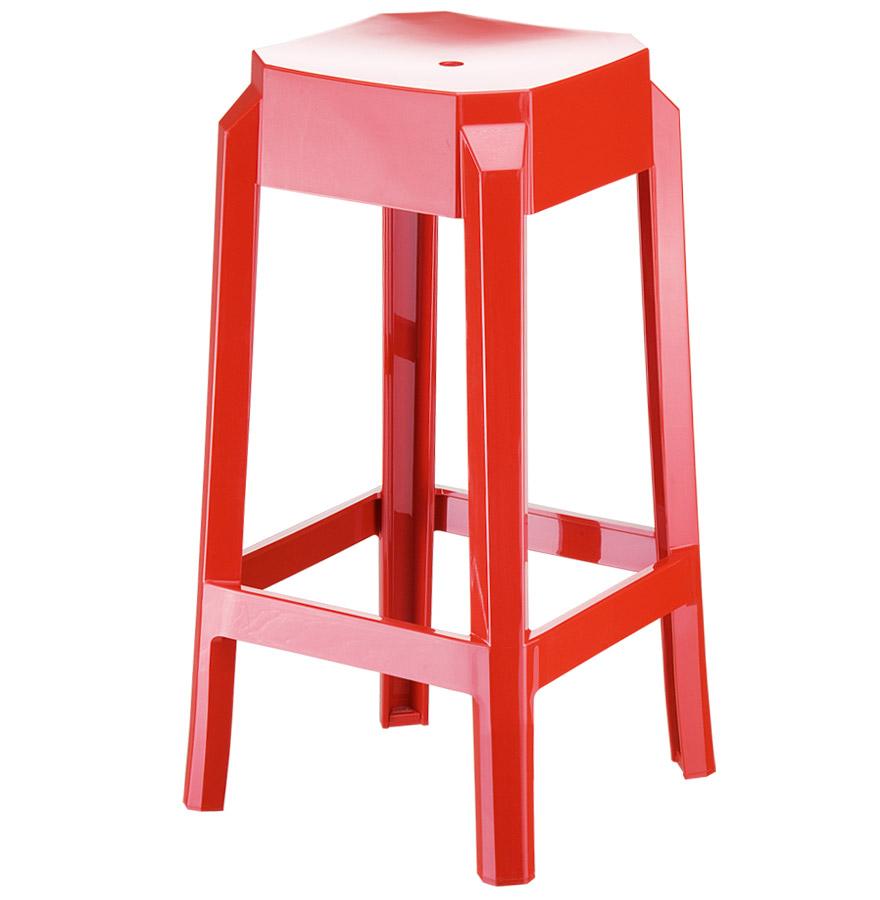 Tabouret snack mi-hauteur en technopolymère utilisable en extérieur.<br />L'assise est à 65 cm de haut.» desc=»Tabouret snack mi-hauteur en technopolymère utilisable en extérieur.<br />L'assise est à 65 cm de haut.» width=»265″ /></a><br /> <strong>Tabouret snack mi-hauteur en technopolymère utilisable en extérieur.<br />L'assise est à 65 cm de haut.</strong><br /> Le tabouret snack LENO MINI est, comme son nom lindique, la version miniature du LENO.<br />Ce tabouret de cuisine d'une hauteur de 65 cm sera parfait dans votre cuisine.<br />Sa couleur rouge brillante donne la touche design à ce tabouret aux formes presque banales ! De plus, il est composé de technopolymère PA6 nylon pour une meilleure résistance aux chocs, aux griffes et aux UVs.<br />Le tabouret LENO MINI bénéficie également de la norme anti-feux V2.<br /> <span style=