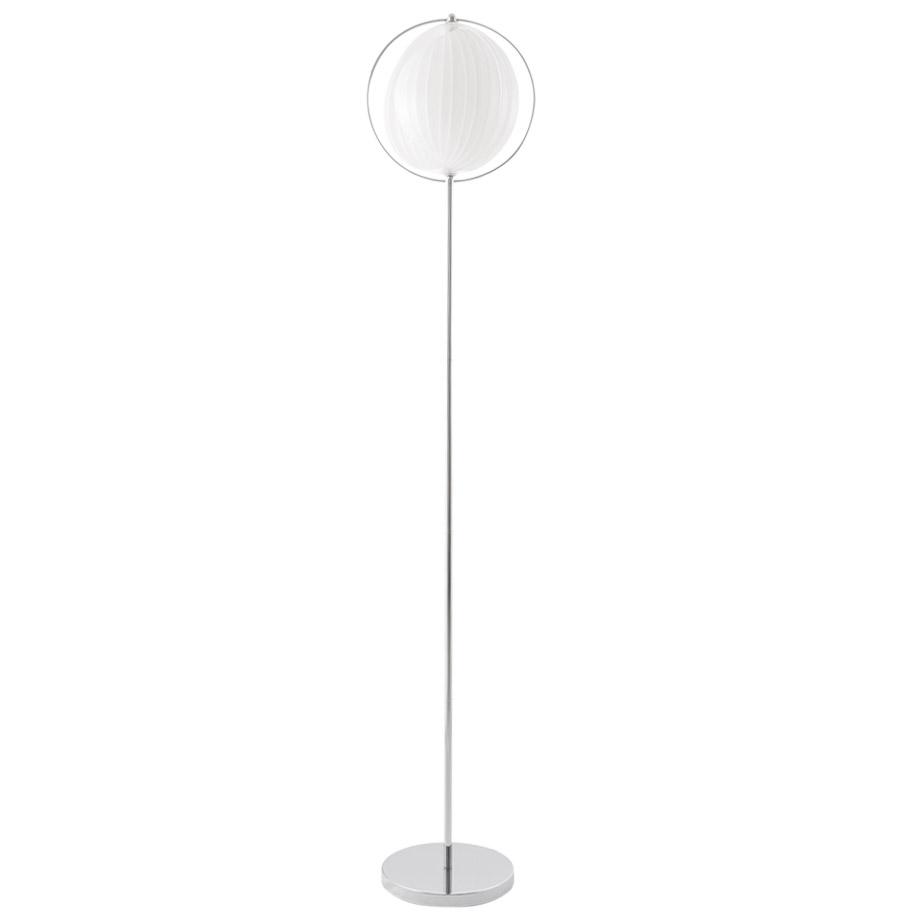 Design rétro, abat-jour en lamelles flexibles.