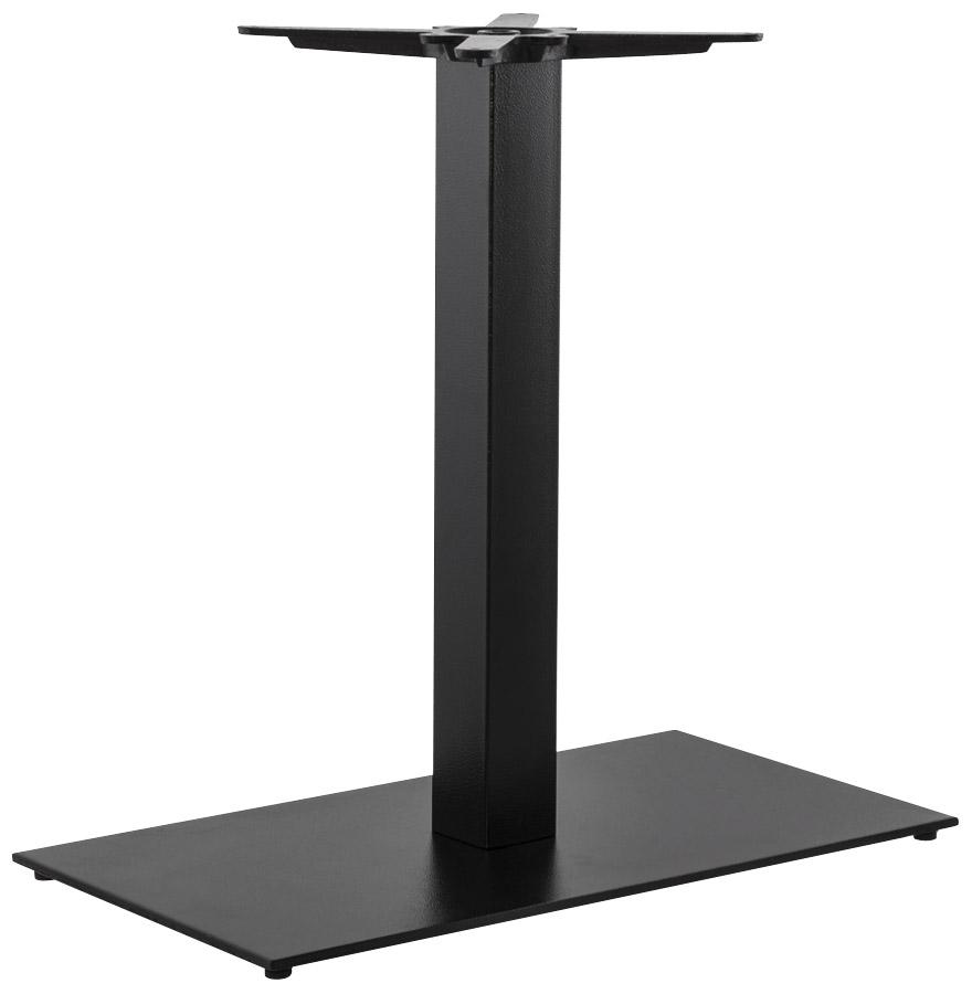 Pied de table ´NERO XL´ 75 noir en métal