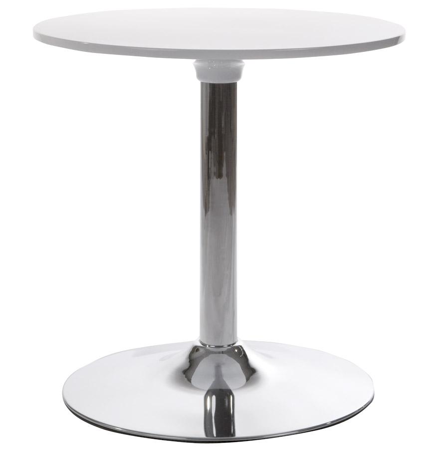 Table en ABS peint, Structure en métal.