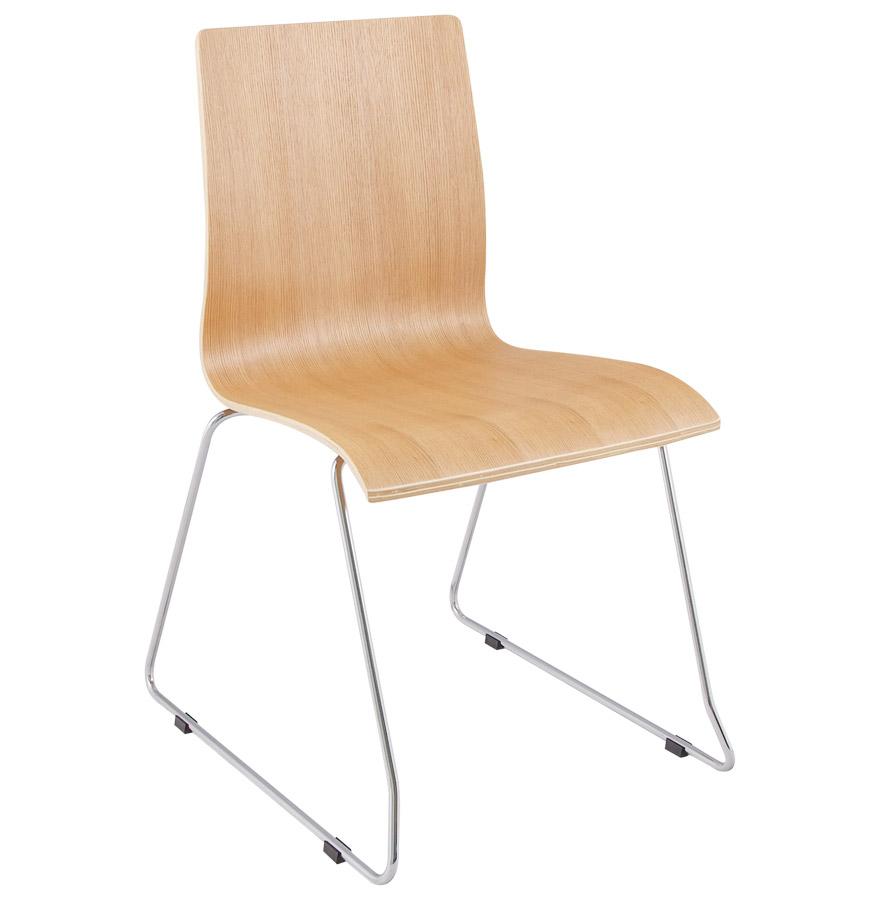 Chaise design en bois lamellé collé, Convient pour tout types d'intérieur.