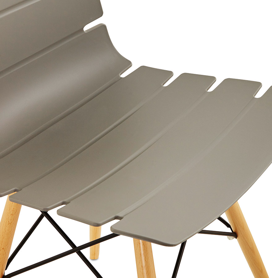 1 Sur 3Livraison Gratuite Chaise Moderne SOFY Grise Style Scandinave