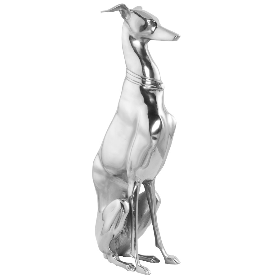 Statue en aluminium, production artisanale.