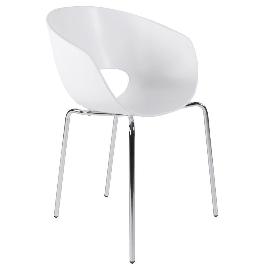 chaise de salle a manger en plastique. Black Bedroom Furniture Sets. Home Design Ideas