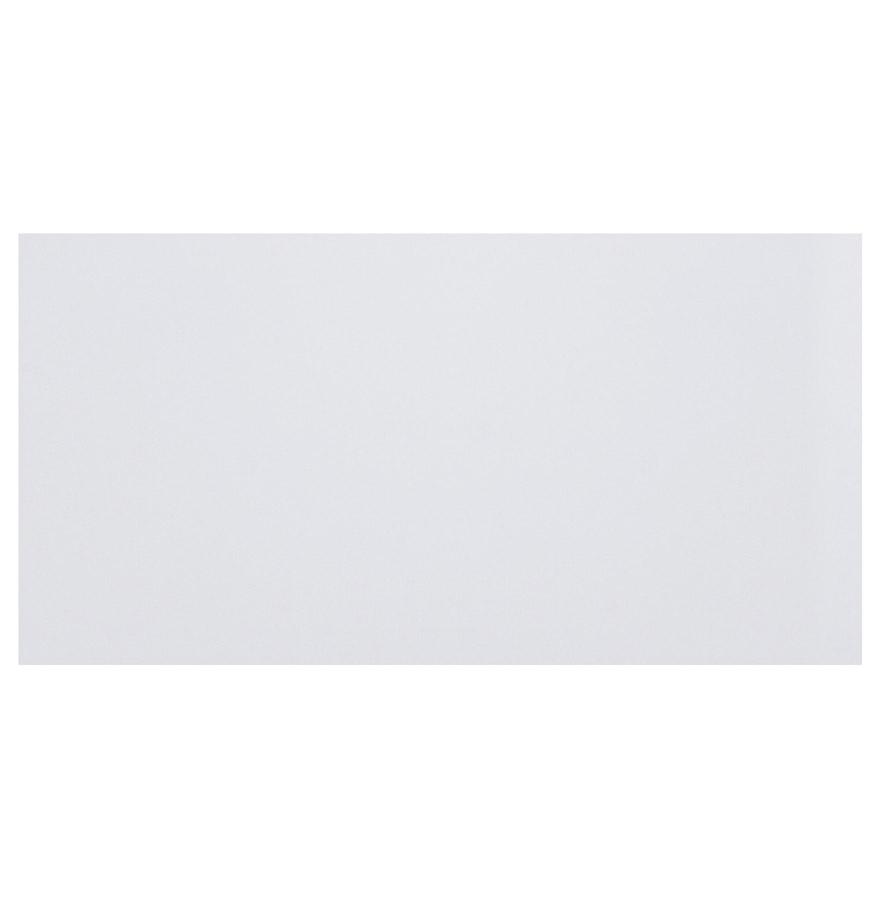 Plateau en bois aggloméré, couleur blanc uni.