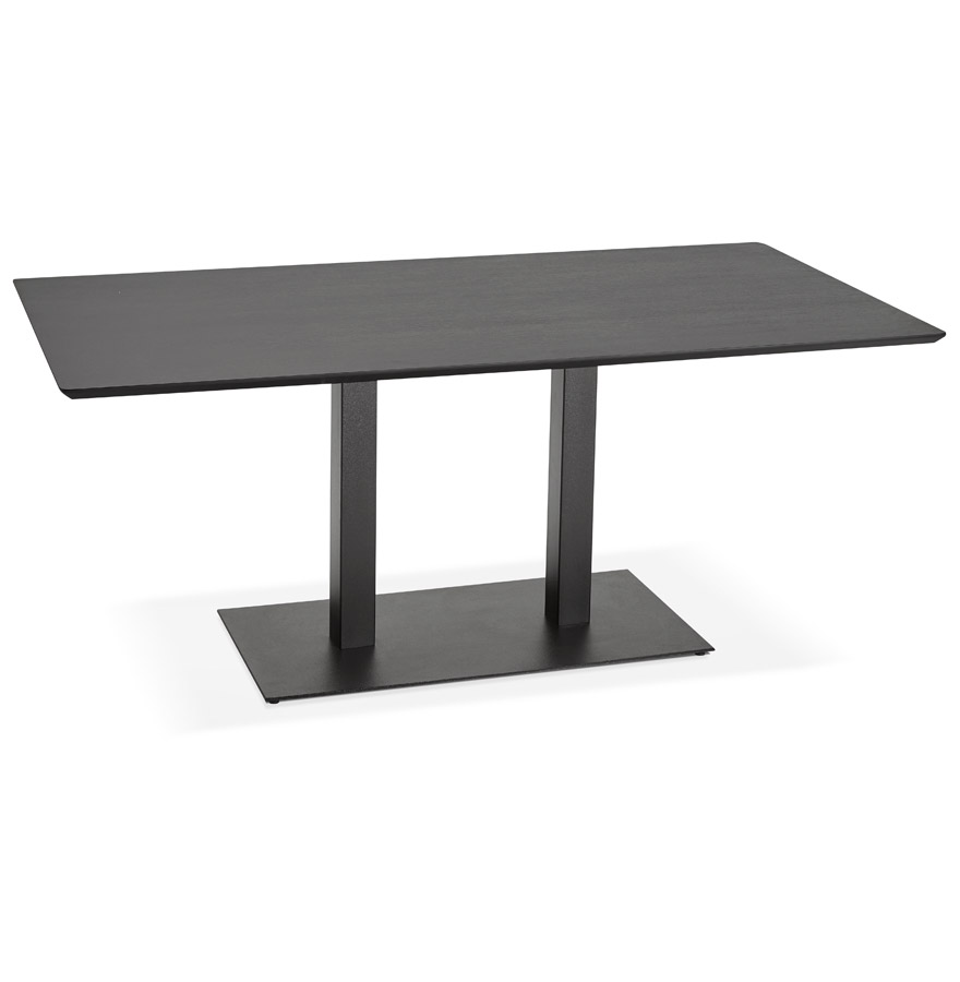 Table / bureau design ´ZUMBA´ noir - 180x90 cm