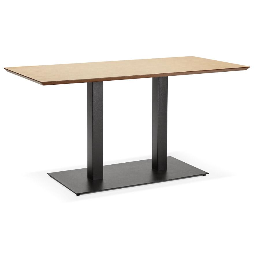 Table / bureau design ´ZUMBA´ en bois finition naturelle - 150x70 cm