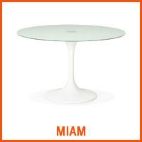 Table MIAM blanche - Nouveaute Alterego