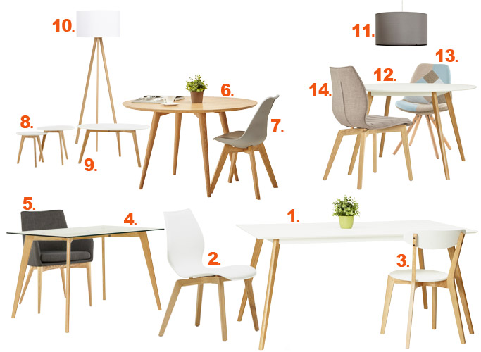 Mobilier scandinave - Alterego Design